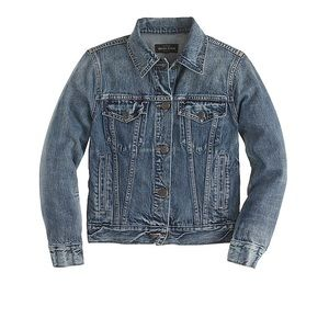 J Crew indigo denim jacket - NWT